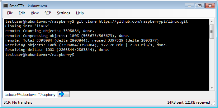 Raspberry pi download from github