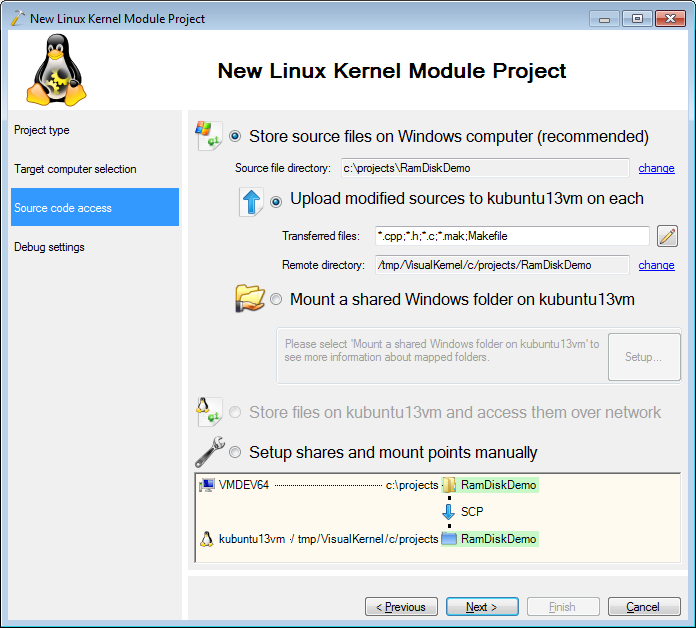 Creating a basic Linux RAM disk with VisualKernel – Sysprogs Tutorials