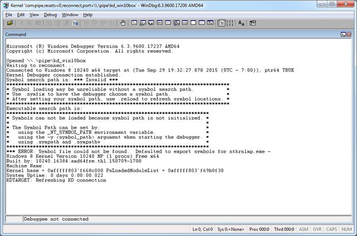 VirtualKD - Installation Instructions