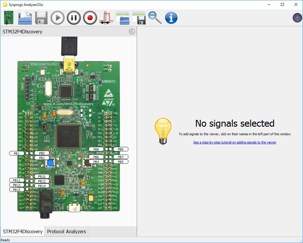 Capturing Basic Signals with Analyzer2Go – Sysprogs Tutorials