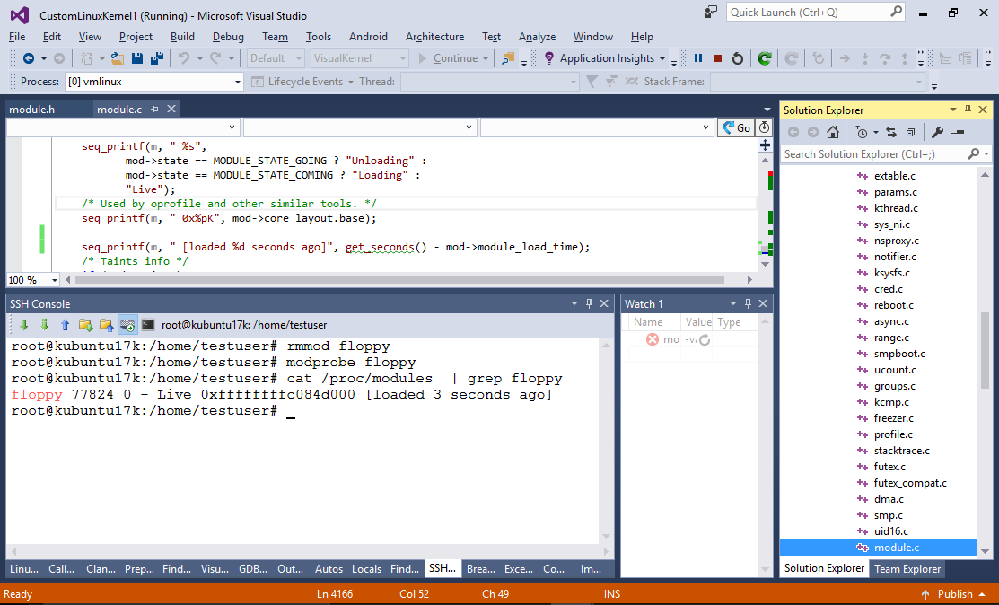 Building and modifying Linux Kernel with Visual Studio – Sysprogs
