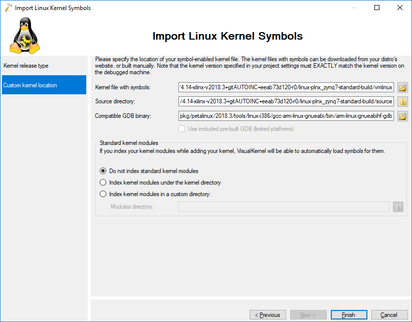 Xilinx Boot Linux