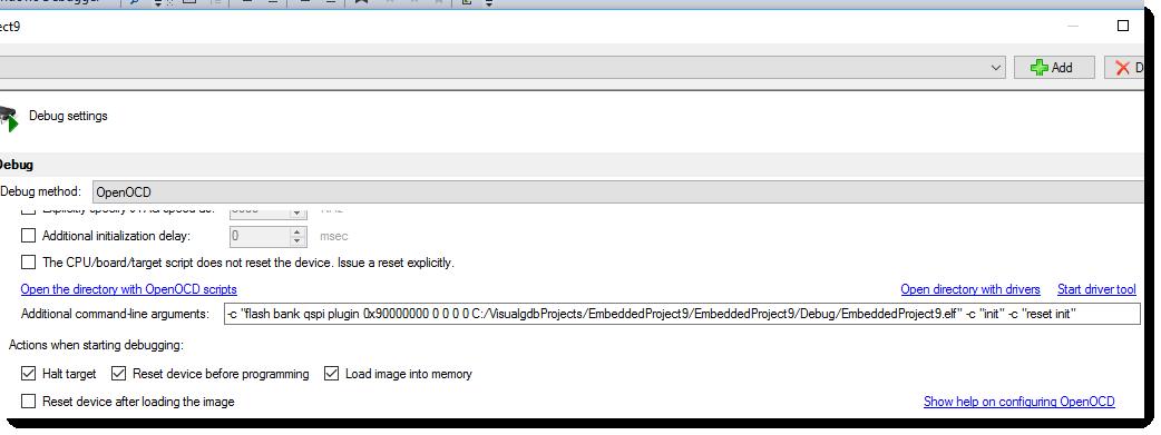 Topic: Flashing QSPI STM32 | Sysprogs
