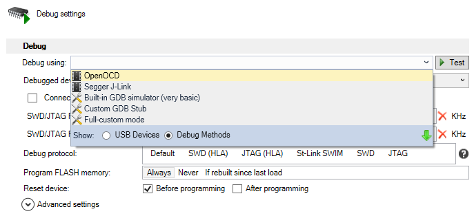 The Updated VisualGDB Embedded Debugging Experience | Sysprogs